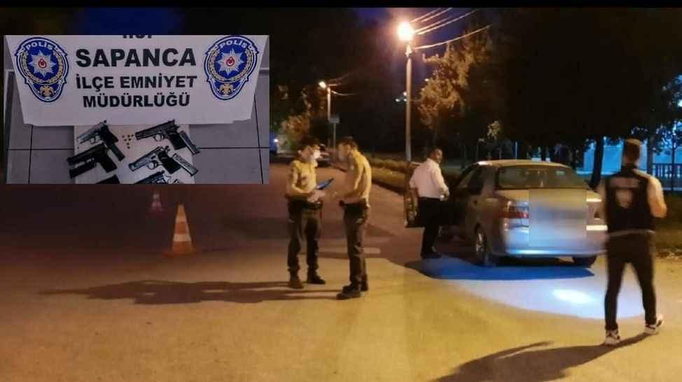 Bir haftada 9 silah ele geçirildi... Sapanca'da denetimler sıklaştırıldı!