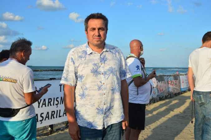 Sakarya'da 2021 Karasu Kum Maratonu düzenlendi