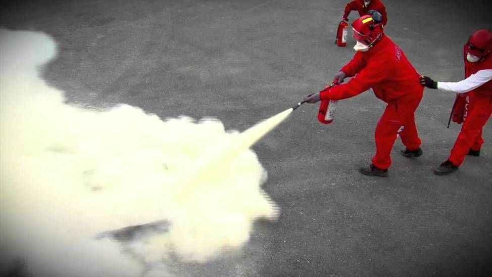 Sakarya'da geliştirilen hızlı soğutma özellikli yangın söndürücü madde testlerden başarıyla geçti