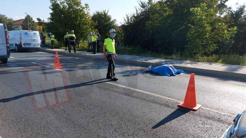 Kampüs yolunda feci kaza... Olay yerinde can verdi!