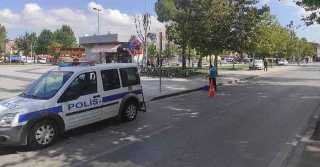 Eylemin ardından polis önlemi alındı