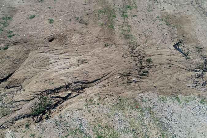 Trakya'da barajların su seviyesi düşüyor