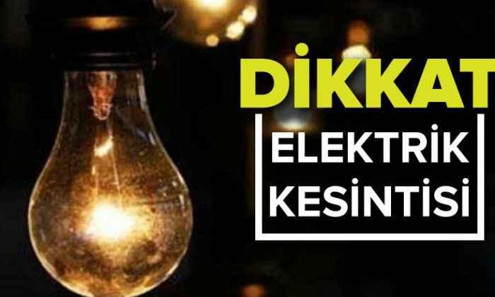Sakarya'da 10 ilçede elektrik kesintisi uygulanacak