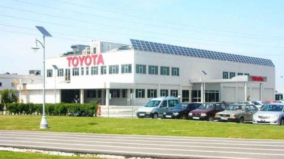 Türkiye'de en çok aracı Toyota üretti...