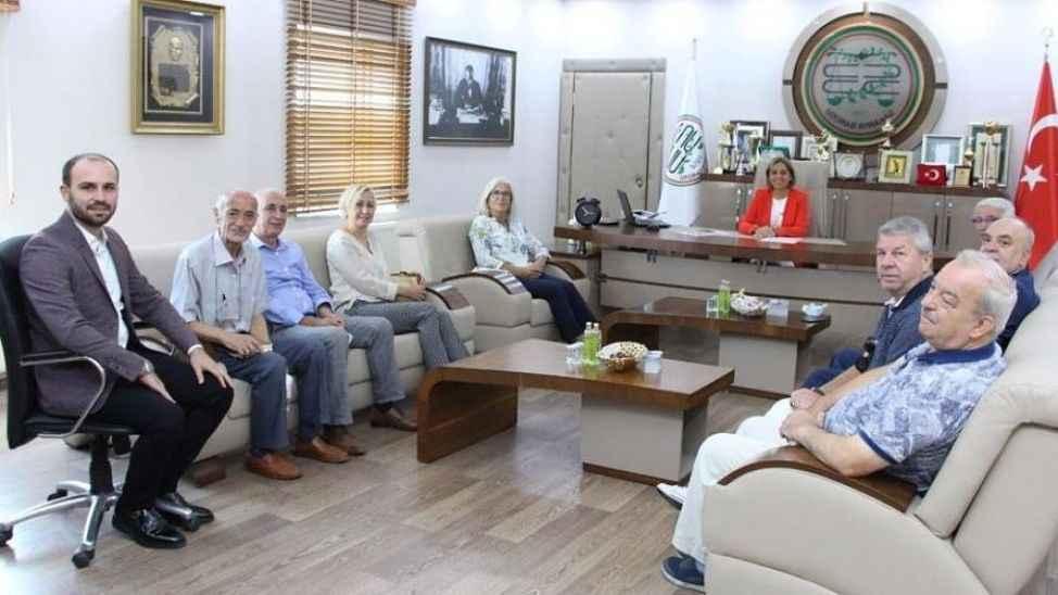 Demokrat Parti'den Baro'ya ziyaret
