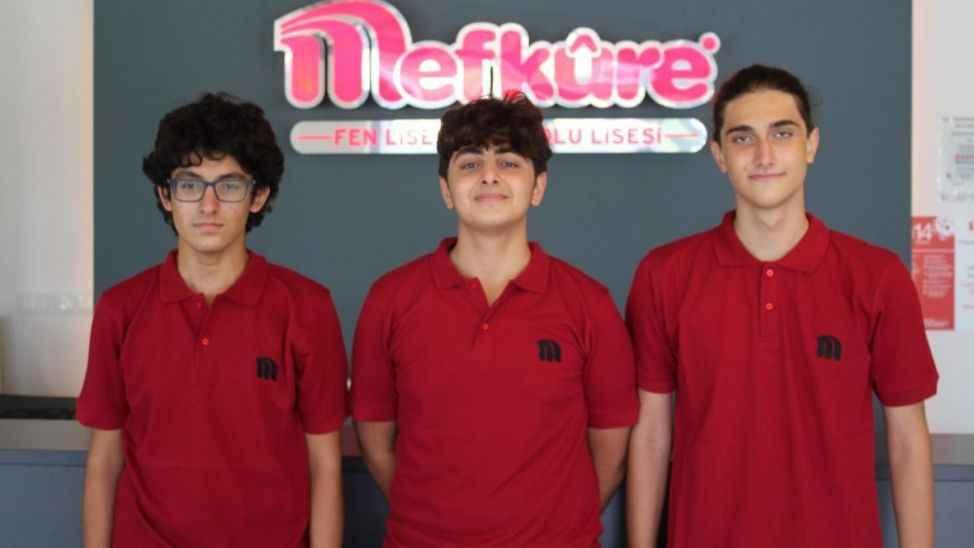 Mefkûre Okulları fen lisesi öğrencileri Teknofest'te