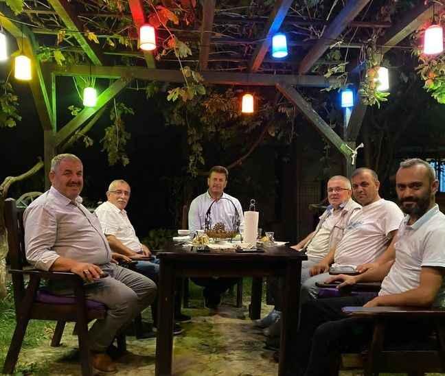Başkan Soykan'a taziye ziyaretleri devam ediyor