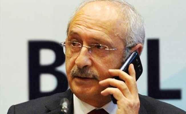 Kılıçdaroğlu'ndan avukat Epözdemir'e başsağlığı telefonu