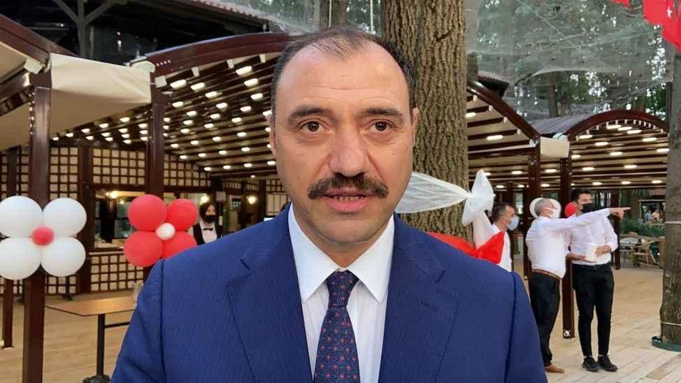 Vali Kaldırım, 30 Ağustos resepsiyonunda konuştu
