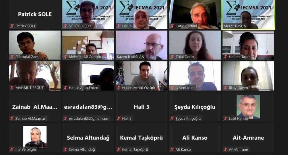 Uluslararası Matematik Konferansı tamamlandı