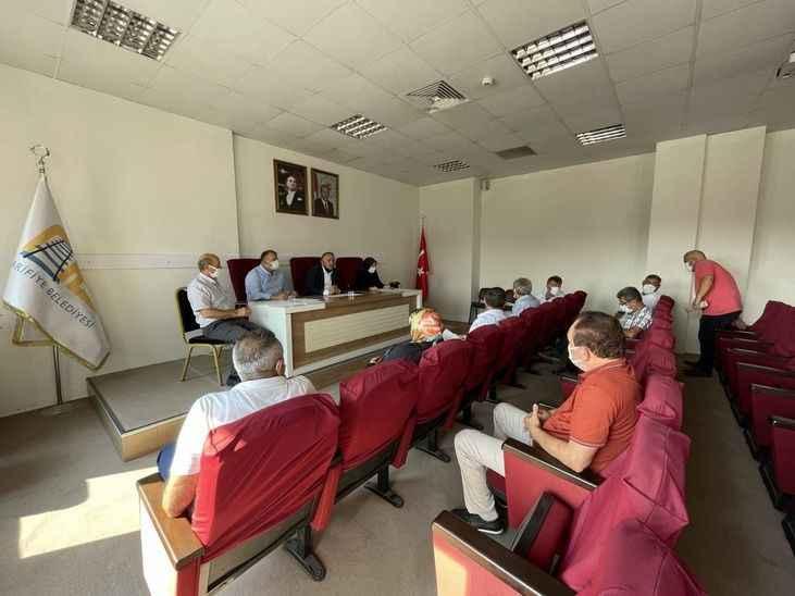 Arifiye Belediyesi 5 maddeyi karara bağladı