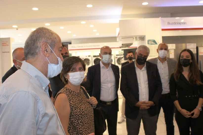 Arçelik'ten yetkili bayi Karabaş'a üst düzey ziyaret