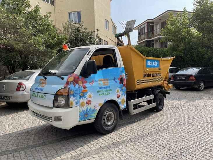 Arifiye'de Çöp Taksi dönemi start aldı
