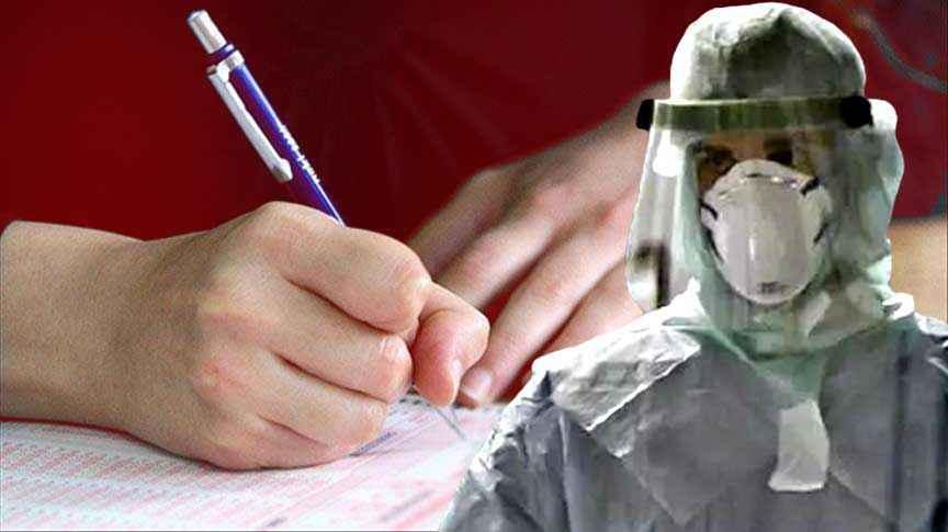 Virüslüler sınava çağırıldı, öğrenciler tedirgin!