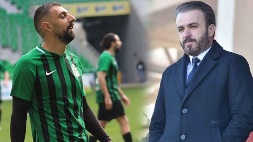 Başkan Genç, Ali Özgün ile görüştü! Futbolcunun akıbeti belli oldu