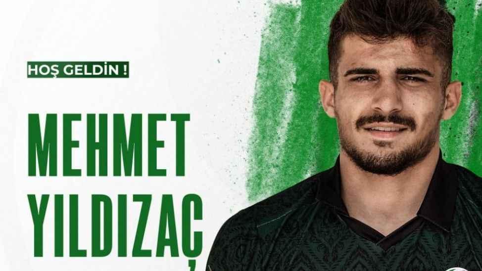 Sakaryaspor yeni transfer Mehmet Yıldızaç'ı açıkladı