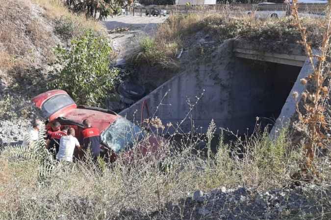 Bilecik'te kaza Aynı aileden 4 kişi yaralandı