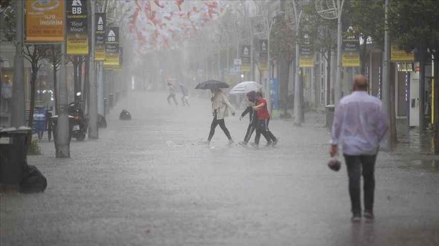 Sakarya'da listede! Marmara Bölgesi için fırtına uyarısı