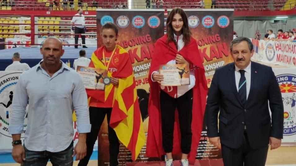 Afra Adıyaman Balkan şampiyonu oldu!