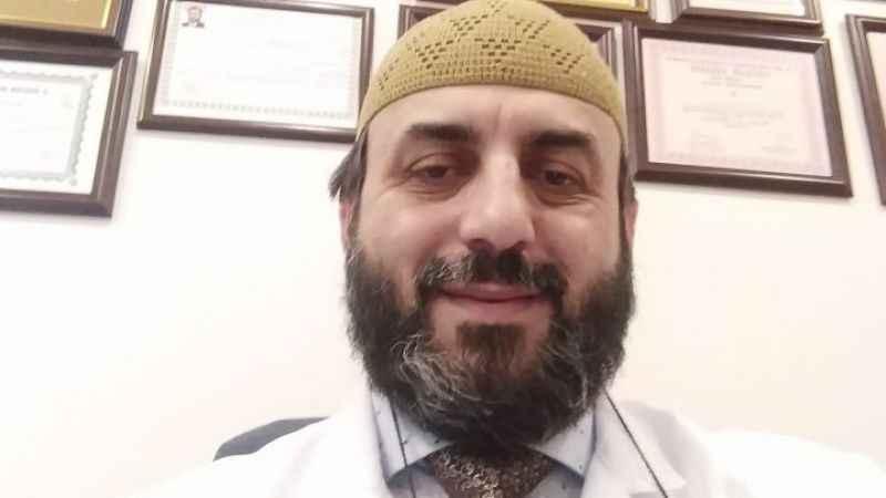 Doktor Hasan Feyzi Katıöz entübe edildi