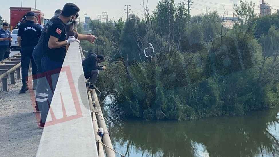 Sakarya köprüsünde intihar girişimi!