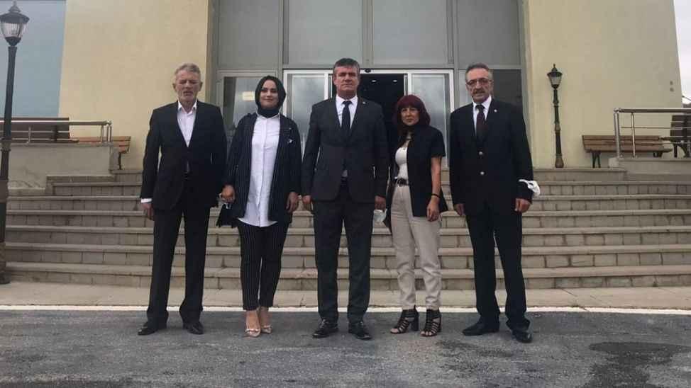 Değişim Partisi'nden Vali Kaldırım'a ziyaret