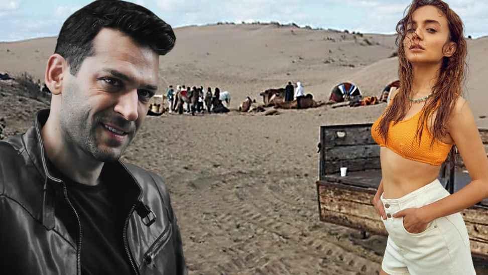 Kaynarca'da Show TV için 'Aziz' adlı dizi çekiliyor