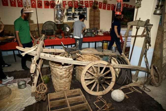 Sakarya'da geçmiş köy yaşamını yansıtan müze ziyaretçilerini tarihi yolculuğa çıkarıyor