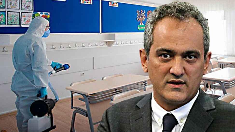 Milli Eğitim Bakanı Mahmut Özer: 200 civarında sınıf Covid-19 nedeniyle eğitime ara verdi!