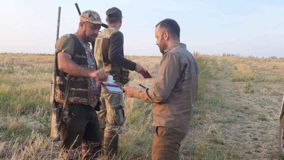 589 avcı denetlendi, 17'si kaçak avcı çıktı...