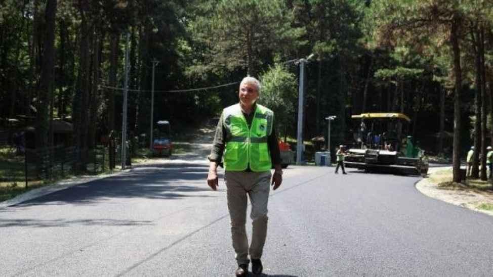 Başkan Yüce: Sakarya'da asfaltsız yol kalmayacak