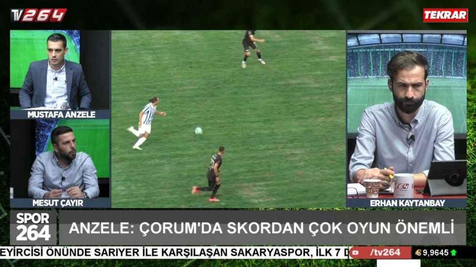 Spor264'de hem Sakaryaspor hem de Hendekspor konuşuldu!