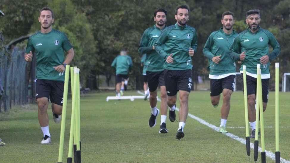 Sakaryaspor tam kadro Çorum FK hazırlıklarına başladı!
