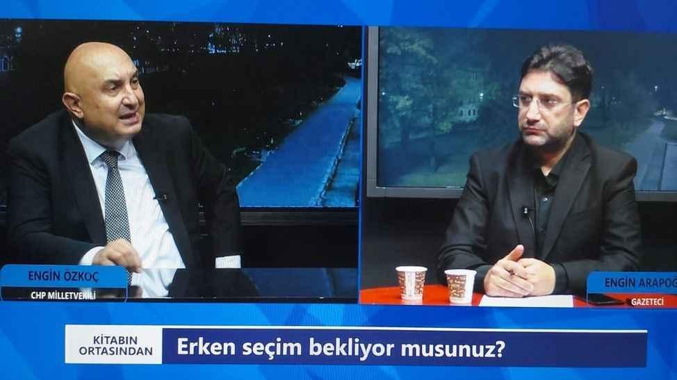 Milletvekili Özkoç'un katıldığı 'Kitabın Ortası'ndan' bu akşam TV264'te