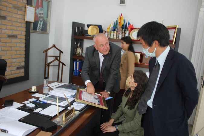 Japon diplomat Doma'dan Söğütlü Belediyesine ziyaret