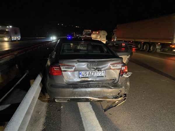 Anadolu Otoyolu'nda zincirleme trafik kazası: 5 yaralı