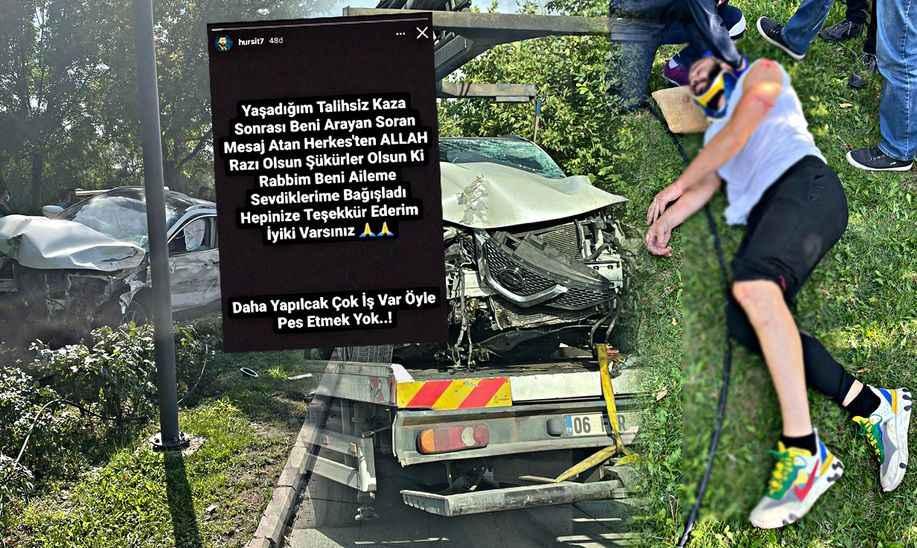 Kaza yapan Hurşit Taşçı'dan mesaj: Pes etmek yok!