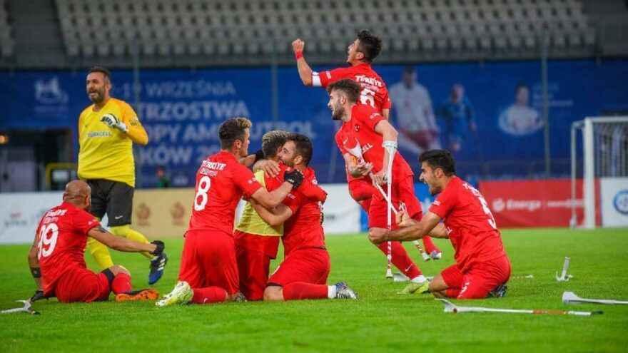 Ampute Milli Takımımız Avrupa şampiyonu!