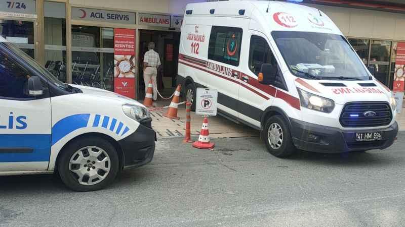 Kocaeli'de bir kişi silahla yaralandı