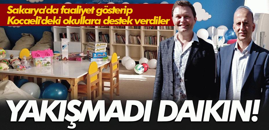 Yakışmadı Daikin! Sakarya'da faaliyet gösterip Kocaeli'deki okullara destek verdiler