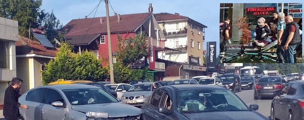 İki otomobil çarpıştı: 'Biri bebek 4 yaralı!'