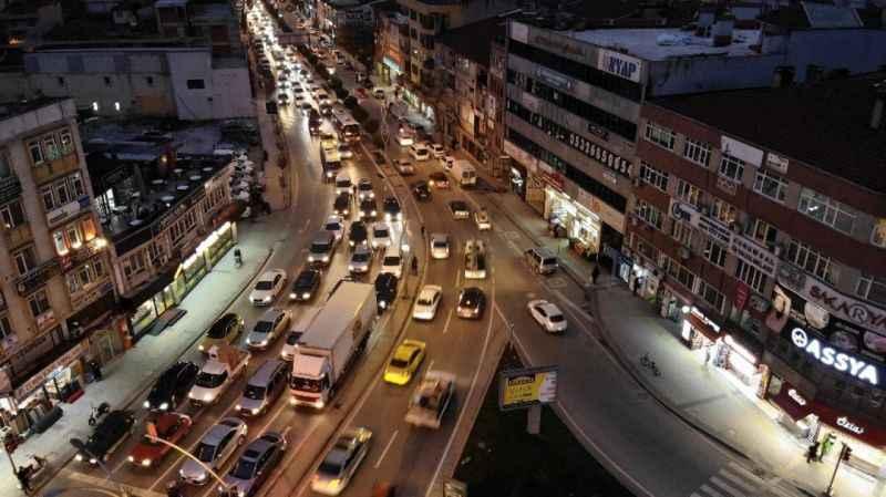 İşte Sakarya'da trafiğe kayıtlı araç sayısı!