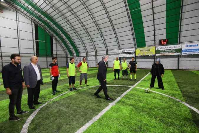 AK Parti Sakarya İlçeler Arası Futbol Turnuvası başladı