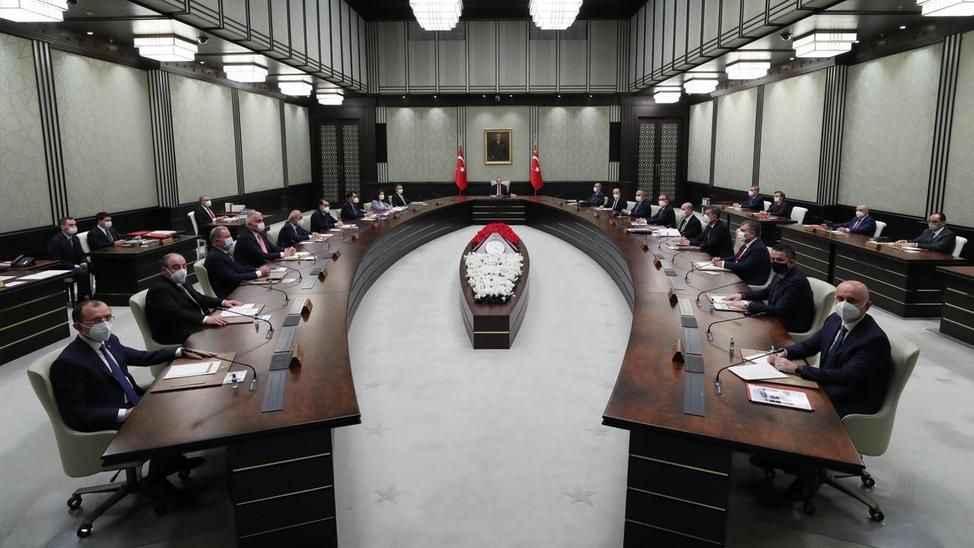 Kritik Kabine Toplantısı pazartesi günü yapılacak