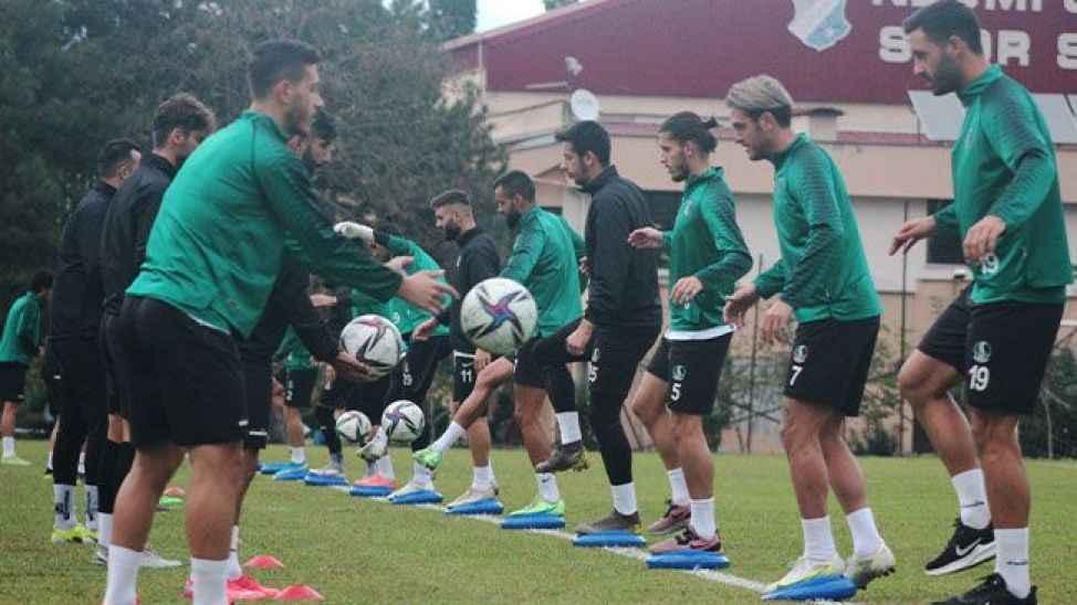 Sakaryaspor, Vanspor maçının hazırlıklarına başladı