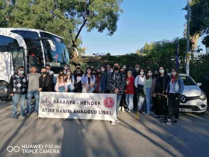 Atike Hanım öğrencileri TEKNOFEST'deydi