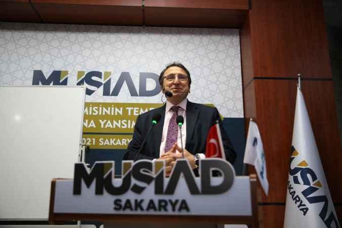 """Sakarya'da """"İslam Ekonomisinin Temelleri ve İş Dünyasına Yansımaları"""" konferansı düzenlendi"""