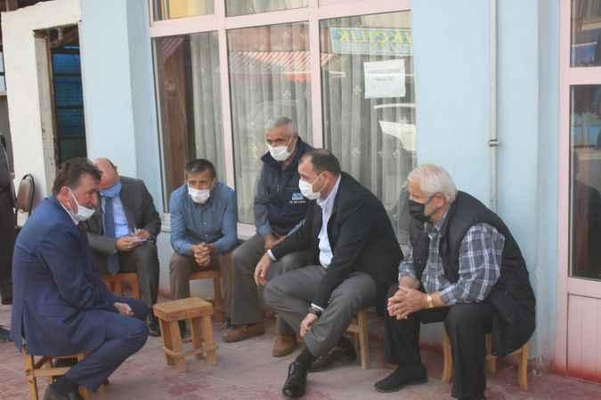 Vali Kaldırım, Ferizli'de temaslarda bulundu
