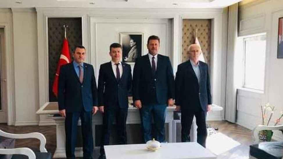 Başkan Soykan, emniyet müdürü Yaman'ı ziyaret etti