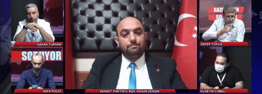 Başkan Zengin'den Tv264'te 'Çalıyorlar' açıklaması! Meğer çalınan umudumuzmuş!
